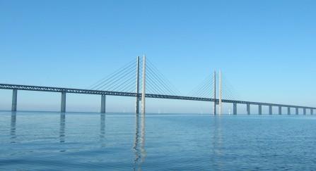 Storebæltsbroen i Danmark